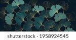 luxury elegant gold pattern... | Shutterstock .eps vector #1958924545
