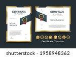 certificate of appreciation... | Shutterstock .eps vector #1958948362