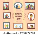 happy family day. different...   Shutterstock .eps vector #1958977798