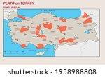 turkey economic geography map   ... | Shutterstock .eps vector #1958988808