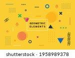 multipurpose minimal modern... | Shutterstock .eps vector #1958989378
