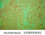 Green Metal Texture With...