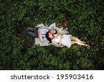 couple. | Shutterstock . vector #195903416