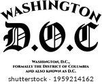 washington d.o.c ancient... | Shutterstock .eps vector #1959214162