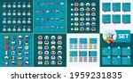 european football 2020 mega set.... | Shutterstock .eps vector #1959231835