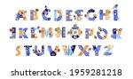 english alphabet  business... | Shutterstock .eps vector #1959281218