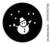 snowy weather icon  weather... | Shutterstock .eps vector #1959294748