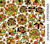 seamless vector pattern with...   Shutterstock .eps vector #1959305665