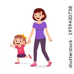 young good looking mother... | Shutterstock .eps vector #1959430738