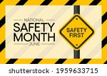 national safety month is...   Shutterstock .eps vector #1959633715