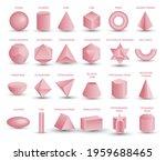 vector realistic 3d pink... | Shutterstock .eps vector #1959688465