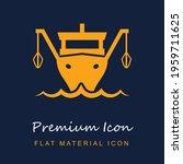 fishing boat premium material...