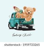 feeling chill calligraphy... | Shutterstock .eps vector #1959723265