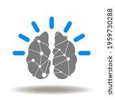 brain activity vector icon.... | Shutterstock .eps vector #1959730288