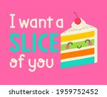 cute cartoon cake with quotes ... | Shutterstock .eps vector #1959752452
