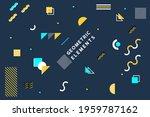 multipurpose minimal modern... | Shutterstock .eps vector #1959787162