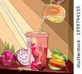 vector art illustration of a... | Shutterstock .eps vector #1959794155