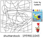 Helicopter. Color By Numbers....