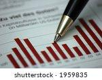 pen showing diagram on...   Shutterstock . vector #1959835