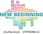new beginning vector...   Shutterstock .eps vector #1959838612