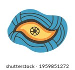 colorful eye talisman as an... | Shutterstock .eps vector #1959851272