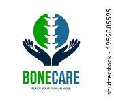 bone care vector logo template. ... | Shutterstock .eps vector #1959885595
