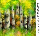 large landscape painting  oil...   Shutterstock . vector #1959886972