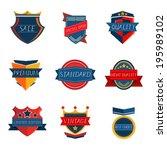 label vintage retro design   Shutterstock .eps vector #195989102