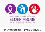 world elder abuse awareness day ... | Shutterstock .eps vector #1959948238