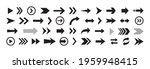 arrows icon set. big arrow icon ... | Shutterstock .eps vector #1959948415