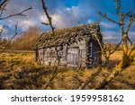 abandoned wooden house in a...   Shutterstock . vector #1959958162
