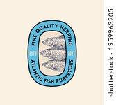 fine quality atlantic herring...   Shutterstock .eps vector #1959963205