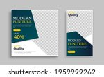 furniture editable minimal... | Shutterstock .eps vector #1959999262