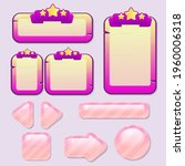 game ui banners buttons cute... | Shutterstock .eps vector #1960006318