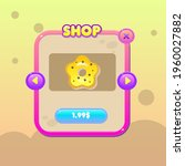 ui for donuts game. sweets...