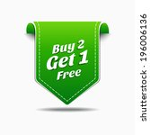 buy 2 get 1 green label icon...