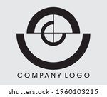 target with a target  logo... | Shutterstock .eps vector #1960103215