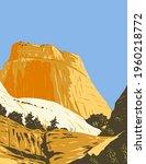 the golden throne rock... | Shutterstock .eps vector #1960218772