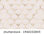 abstract gold decorative... | Shutterstock .eps vector #1960232845