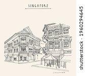 vector singapore touristic...   Shutterstock .eps vector #1960294645