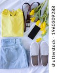 Woman Spring Clothing Flat Lay...
