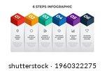6 list of steps  column layout... | Shutterstock .eps vector #1960322275