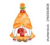 digital paint watercolor fruits ...   Shutterstock .eps vector #1960363828