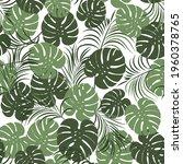tropical seamless pattern... | Shutterstock .eps vector #1960378765