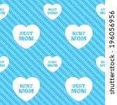 best mom sign icon. heart love...   Shutterstock .eps vector #196056956