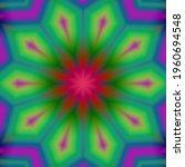 Design Of A Geometric Flower...