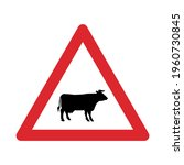 Traffic Sign Warning For Cattle ...