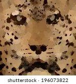 Grunge Retro Oil Leopard...