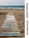 Walkway To The Beach In The...