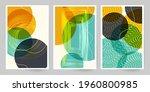 60s art canvas. set of...   Shutterstock .eps vector #1960800985